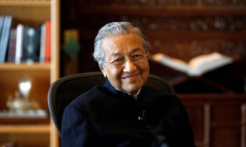 Tân thủ tướng Malaysia Mahathir Mohamad. Ảnh: Reuters.