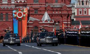 Những khoảnh khắc ấn tượng trong Duyệt binh Chiến thắng tại Moskva