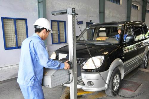 Nên kiểm tra bảo dưỡng xe trước khi đi đăng kiểm.