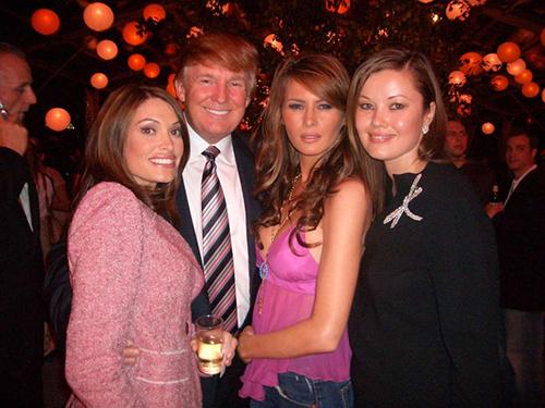 : Kimberly Guilfoyle Newsom, Donald Trump, Melnia Knaus, Tatiana Sorokko at the fashions shows in New York. Ran on: 09-26-2004 Ran on: 09-26-2004 Ran on: 09-26-2004