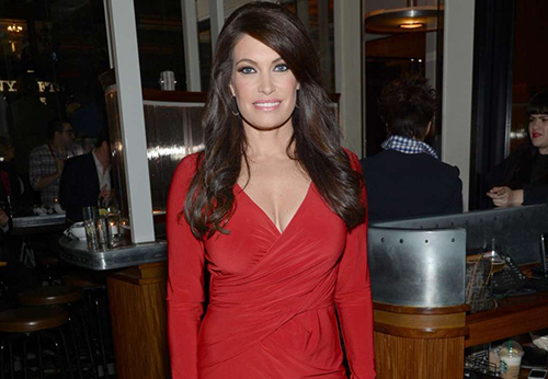 [Kimberly Guilfoyle arrives at the New York special screening of Fury on Tuesday, Oct. 14, 2014 in New York.