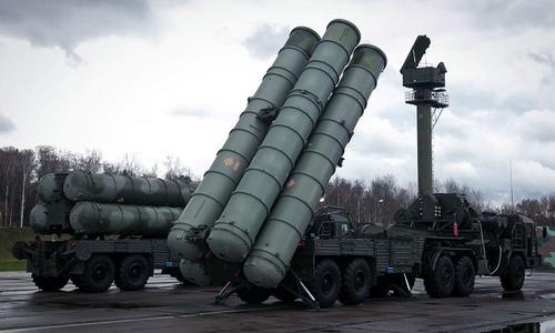 Tổ hợp phòng không S-300 của Nga. Ảnh: TASS.