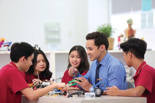 các em sẽ học các dự án lắp ráp robot