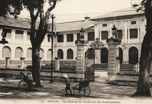 Dinh Thượng Thơ vào đầu thế kỷ XX.