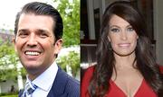 Con trai cả của Trump bị đồn hẹn hò với người dẫn chương trình hơn 9 tuổi
