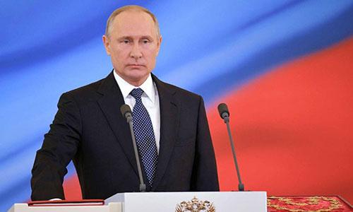 Tổng thống Nga Putin. Ảnh: CNN.