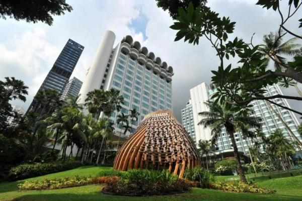 Khách sạn Shangri-La. Ảnh: Reuters.