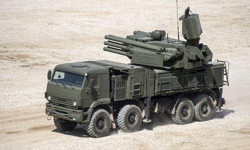 Một hệ thống Pantsir-S1 do Nga sản xuất. Ảnh: RT.
