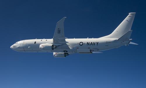 Trinh sát cơ P-8A Poseidon của hải quân Mỹ. Ảnh: USNI.