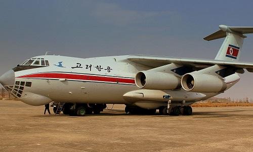 Một chiếc máy bay vận tải Il-76 của Triều Tiên. Ảnh: Aiviationist.