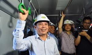 Bộ trưởng Giao thông: 'Đường sắt Cát Linh - Hà Đông êm hơn đường sắt quốc gia'