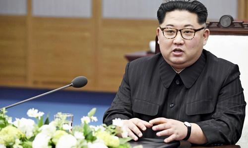 Lãnh đạo Triều Tiên Kim Jong-un. Ảnh: Kyodo.