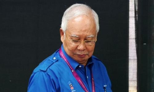 Cựu thủ tướng Malaysia Najib Razak. Ảnh: Reuters.
