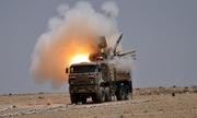 Syria công bố hình ảnh tổ hợp Pantsir-S1 trúng tên lửa Israel