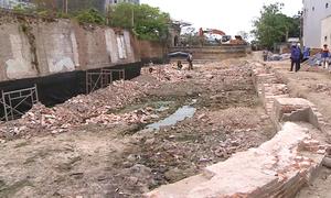 Đà Nẵng phát lộ tường rào di tích thành Điện Hải