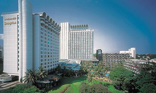 Toàn cảnh khách sạn Shangri-la ở Singapore. Ảnh: Shangri-la.com.