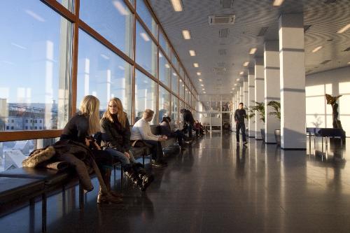 Không gian đào tạo tại Đại học Tampere, Phần Lan.
