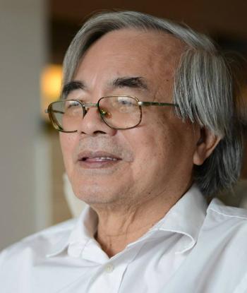 Giáo sư Phan Đình Diệu. Ảnh:Fb Hiệu Minh.