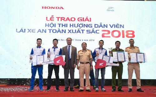 Hội thi kết thúc với 2 giải nhất là 2 chiếc xe máy Winner cùng nhiều giải thưởng giá trị khác.