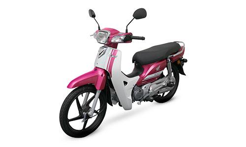 Honda EX5 2018 phiên bản vành đúc màu hồng.