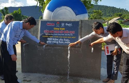 Một trong những công trình giúp tiết kiệm nước.