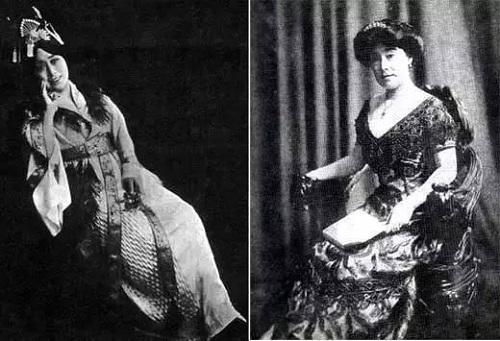 Công chúa Đức Linh trong trang phục Tây phương. Ảnh: Sina.