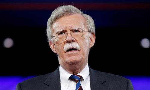 Cố vấn An ninh quốc gia Mỹ John Bolton. Ảnh: Reuters.