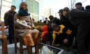 Nhật phản đối người Hàn dựng tượng nô lệ tình dục ở Đức