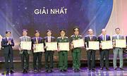 Bốn nhóm tác giả được trao giải nhất sáng tạo khoa học Việt Nam