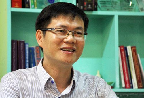 PGS Phạm Văn Hùng, trưởng Bộ môn Công nghệ Thực phẩm (Đại học Quốc tế - Đại học Quốc gia TP HCM). Ảnh: Mạnh Tùng.
