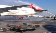 Máy bay Hàn Quốc đâm gãy đuôi phi cơ Thổ Nhĩ Kỳ