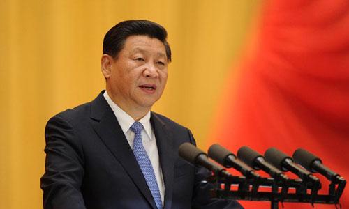 Ông Tập phát biểu tại một hội thảo ở Bắc Kinh năm 2014. Ảnh: Chinanews.