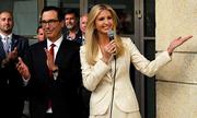 Ivanka nói sai tên nước Mỹ khi khánh thành sứ quán ở Jerusalem