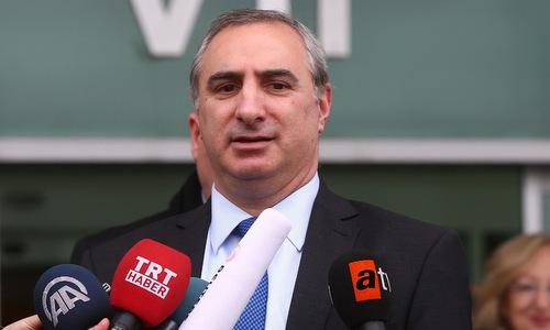 Đại sứ Israel tại Thổ Nhĩ Kỳ Eitan Naeh. Ảnh: CNN.