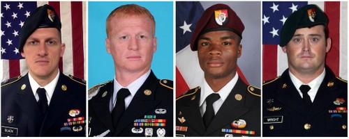 4 lính đặc nhiệm Mỹ thiệt mạng trong trận đánh. Ảnh: NY Times.