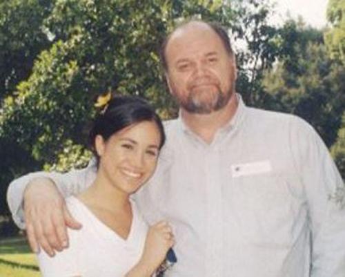 [Meghan và bố rất thân thiết với nhau. Ảnh:Tim Stewart.