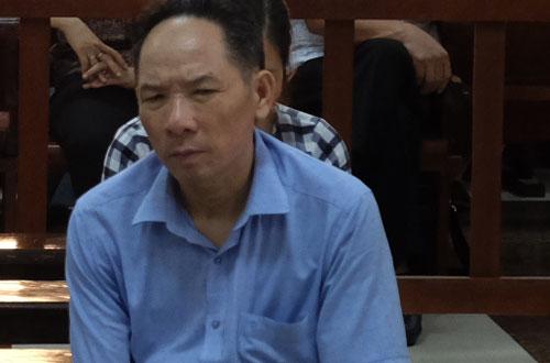 Bị cáo Phan Minh Nguyệt tại phiên tòa sơ thẩm.