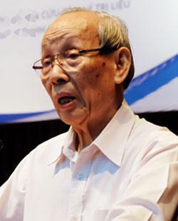 GS Trần Hồng Quân - Chủ tịch Hiệp hội các trừng đại học, cao đẳng Việt Nam cho rằng, giáo dục mở là trao quyền tự chủ cho học sinh. Ảnh: Quỳnh Trang.