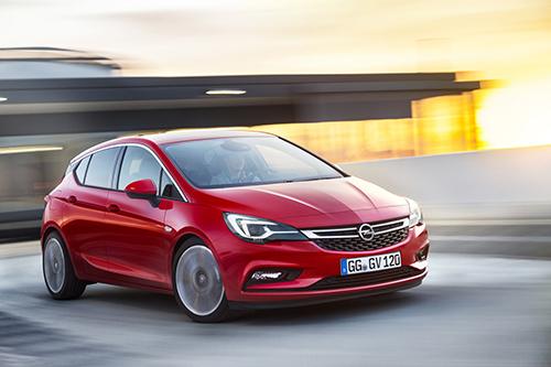 Một mẫu Opel Astra tại thị trường châu Âu. Ảnh: Thetruthaboutcars.
