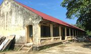 Trường lún nứt, hơn 400 học sinh phải về học phòng cũ