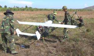 Bình Thuận thử nghiệm máy bay trinh sát quản lý rừng