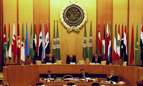 Cuộc họp của Liên đoàn Arab hồi tháng 12/2017 về tình hình Trung Đông. Ảnh: Reuters.