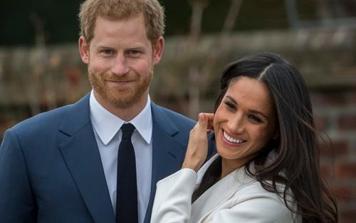 Hoàng tử Harry và hôn thê Meghan Markle.