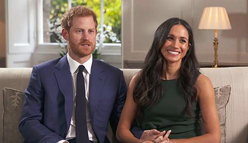 Hoàng tử Harry và hôn thê Meghan