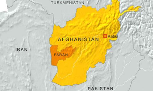 Thành phố Farah là thủ phủ tỉnh Farah ở phía tây Afghanistan. Đồ họa: Vox.