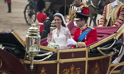 Ascot Landau từng được sử dụng trong đám cưới Hoàng tử William và Công nương Kate Middleton vào năm 2011. Ảnh: NPA.