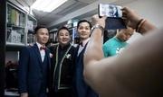 Đám cưới khép kín của người đồng tính nam ở Hong Kong