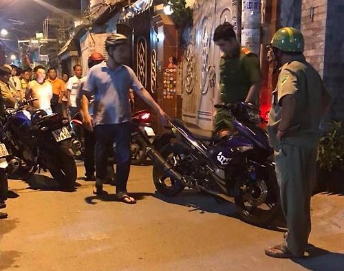 Cảnh sát vây bắt Tài Mụn.