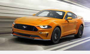 Ford Mustang thế hệ mới - xe cơ bắp thêm mượt mà