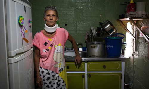 BàZulay Perez, 63 tuổi, sống ở thủ đô Caracas, Venezuela. Ảnh: Washington Post.